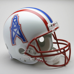 Category: Dropship Sports Fan Gifts, SKU #9585599806, Title: Houston Oilers 1981-96 Throwback Pro Line Helmet Special Order