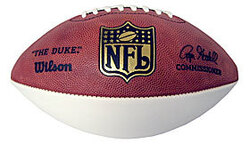 Category: Dropship No Teams, SKU #WTF1180, Title: Wilson 1-White Panel NFL Football Special Order