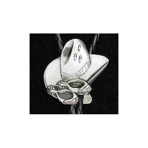 Bolo - Cowboy Hat and Spurs (Diamond Cut)