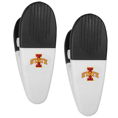 Iowa St. Cyclones Mini Chip Clip Magnets, 2 pk