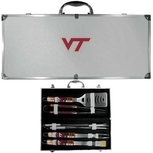 Virginia Tech Hokies 8 pc Tailgater BBQ Set