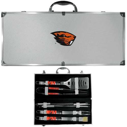 Oregon St. Beavers 8 pc Tailgater BBQ Set