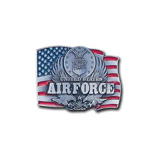 ME-US. AIR FORCE/FLAG ENAMELED