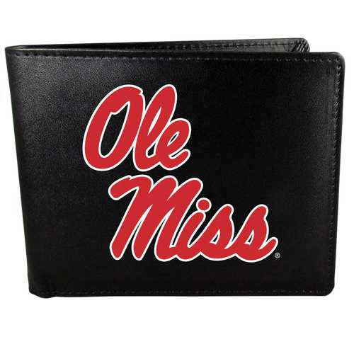 Mississippi Rebels Bi-fold Wallet Large Logo