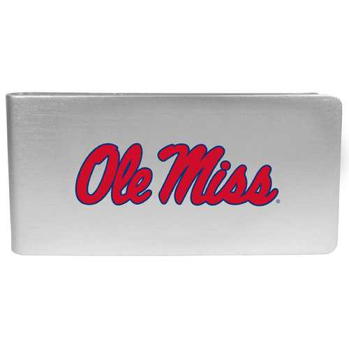 Mississippi Rebels Logo Money Clip