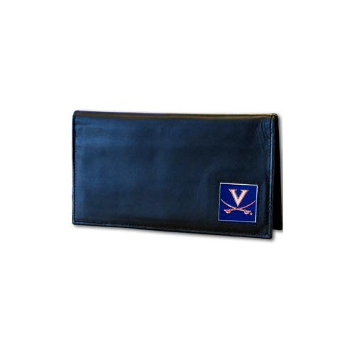 Virginia Cavaliers Deluxe Leather Checkbook Cover