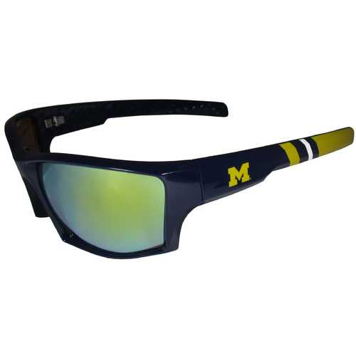 Michigan Wolverines Edge Wrap Sunglasses