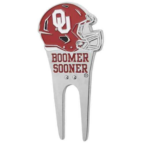 Oklahoma Sooners Divot Tool and Ball Marker