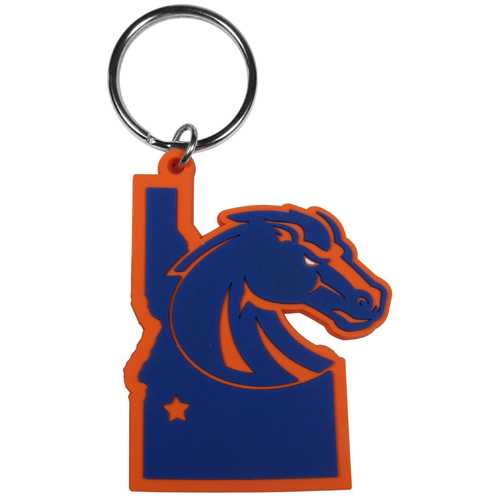 Boise St. Broncos Home State Flexi Key Chain