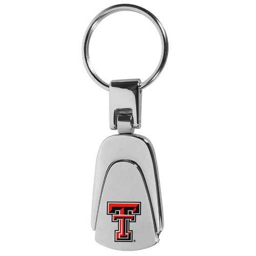 Texas Tech Raiders Steel Teardop Key Chain