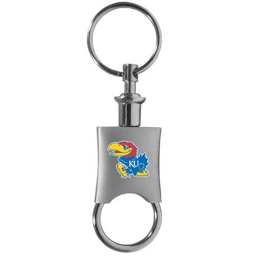 Kansas Jayhawks Valet Key Chain