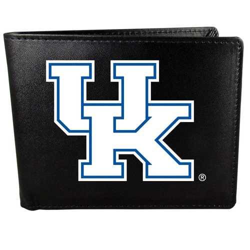 Kentucky Wildcats Leather Bi-fold Wallet, Large Logo