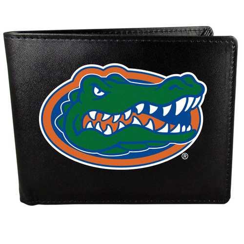 Florida Gators Leather Bi-fold Wallet, Large Logo