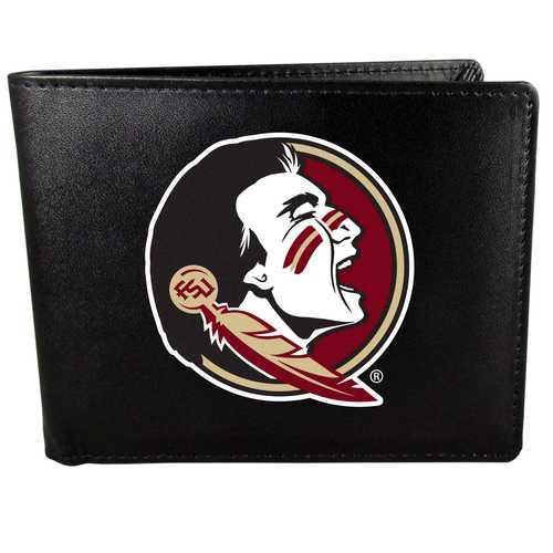 Florida St. Seminoles Leather Bi-fold Wallet, Large Logo