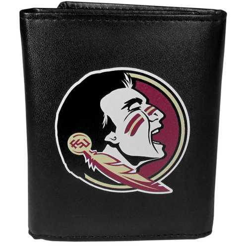 Florida St. Seminoles Leather Tri-fold Wallet, Large Logo
