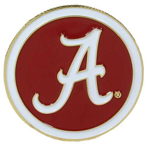 Alabama Crimson Tide Golf Ball Marker, Logo