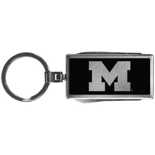 Michigan Wolverines Multi-tool Key Chain, Black
