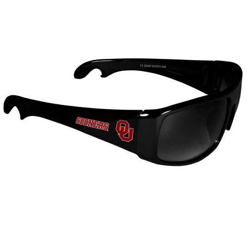 Oklahoma Sooners Wrap Bottle Opener Sunglasses