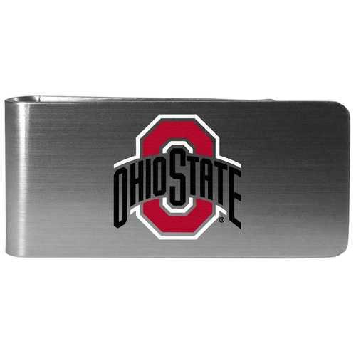 Ohio St. Buckeyes Steel Logo Money Clip