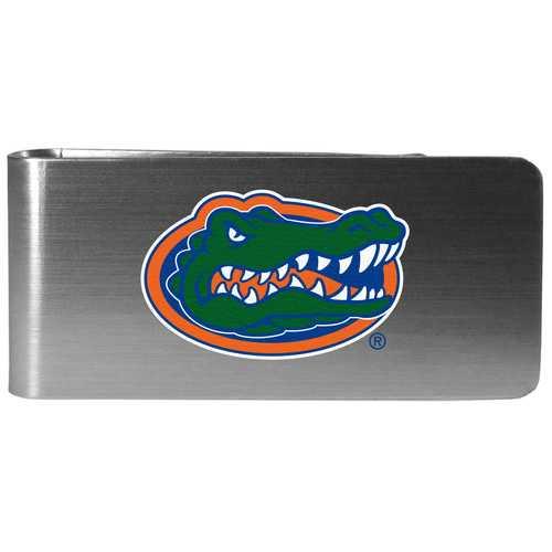 Florida Gators Steel Money Clip, Logo