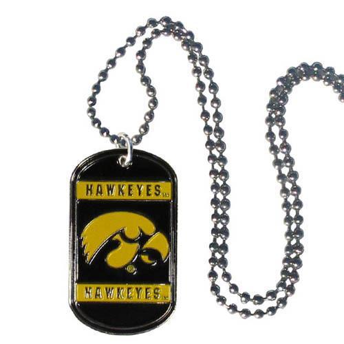 Iowa Tag Necklace
