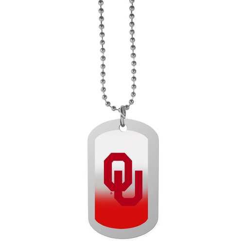 Oklahoma Sooners Team Tag Necklace