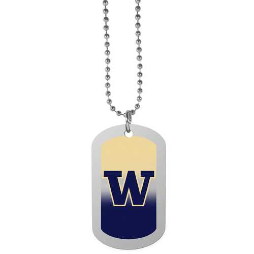 Washington Huskies Team Tag Necklace