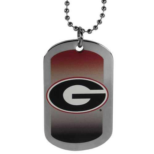 Georgia Bulldogs Team Tag Necklace