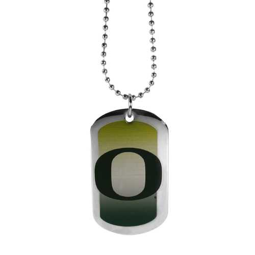 Oregon Ducks Team Tag Necklace