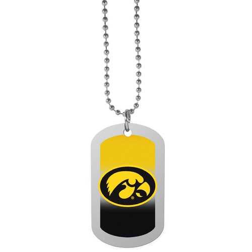 Iowa Hawkeyes Team Tag Necklace