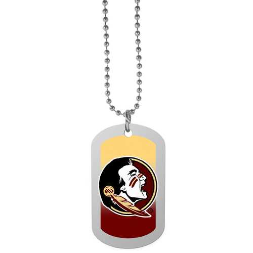 Florida St. Seminoles Team Tag Necklace