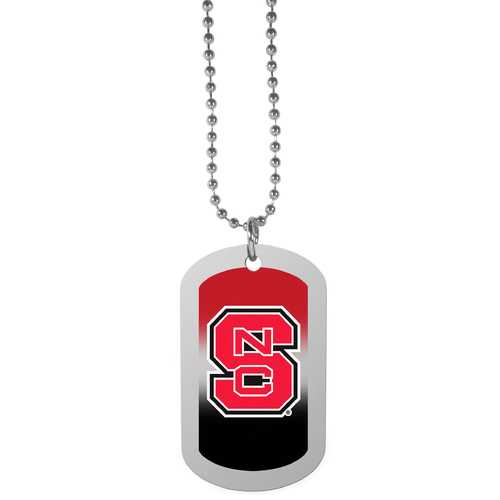 N. Carolina St. Wolfpack Team Tag Necklace