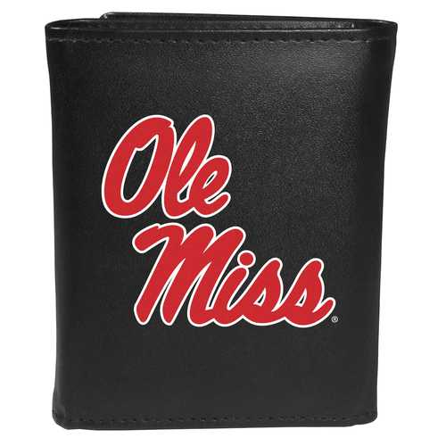 Mississippi Rebels Tri-fold Wallet Large Logo