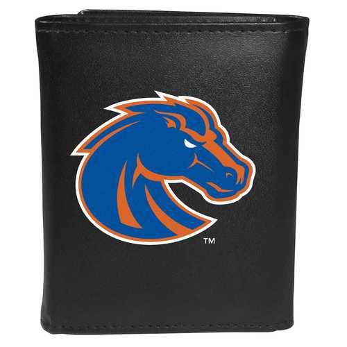Boise St. Broncos Tri-fold Wallet Large Logo
