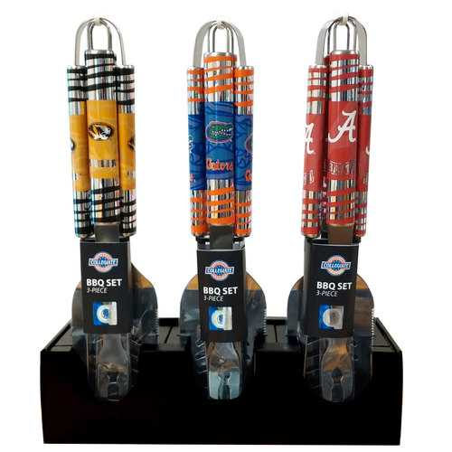 Cardboard Counter Display for BBQ Sets Holds 6