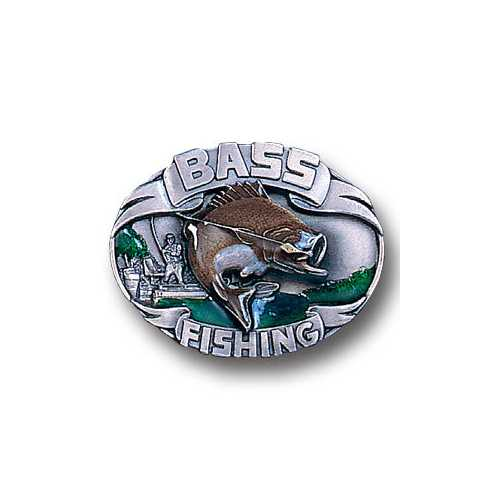 M-BASS FISHING ENAMELED