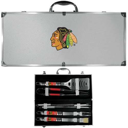 Chicago Blackhawks® 8 pc Tailgater BBQ Set