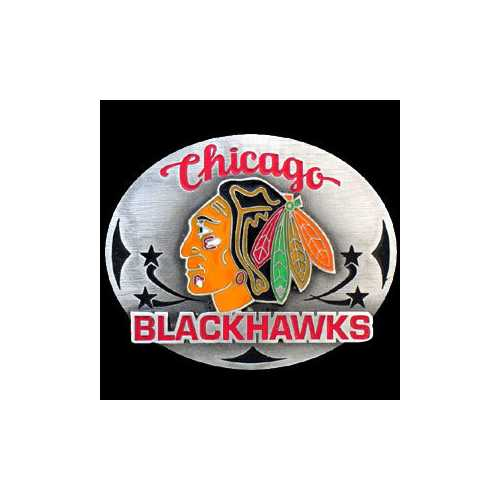 Chicago Blackhawks® Team Belt Buckle