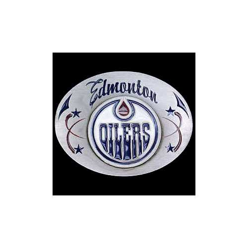 Edmonton Oilers® Team Belt Buckle