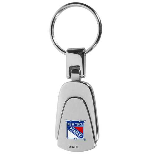 New York Rangers® Steel Teardop Key Chain