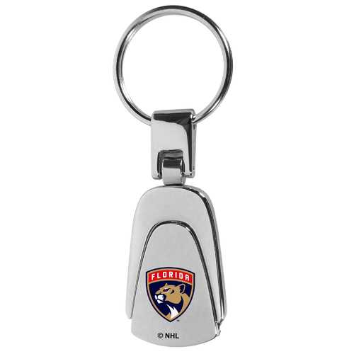 Florida Panthers® Steel Teardop Key Chain