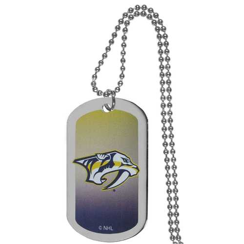 Nashville Predators® Team Tag Necklace