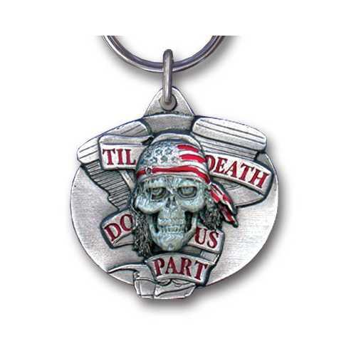 KEY-DEATH DO US PART ENAMELED