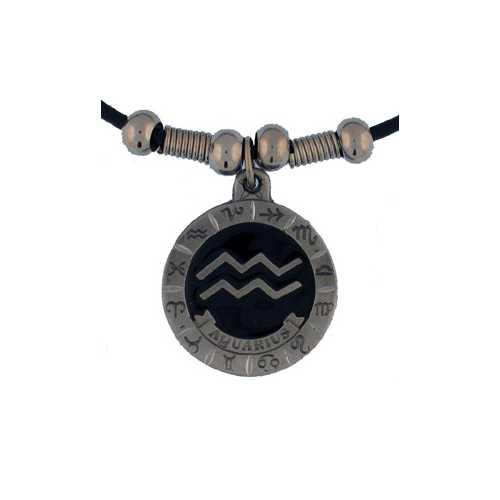Aquarius Cord Necklace
