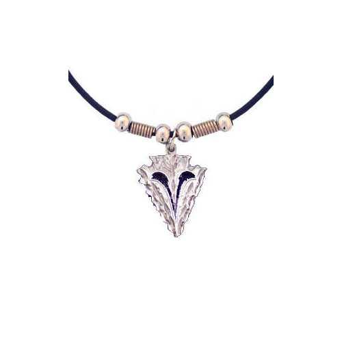 Arrowhead Adjustable Cord Necklace