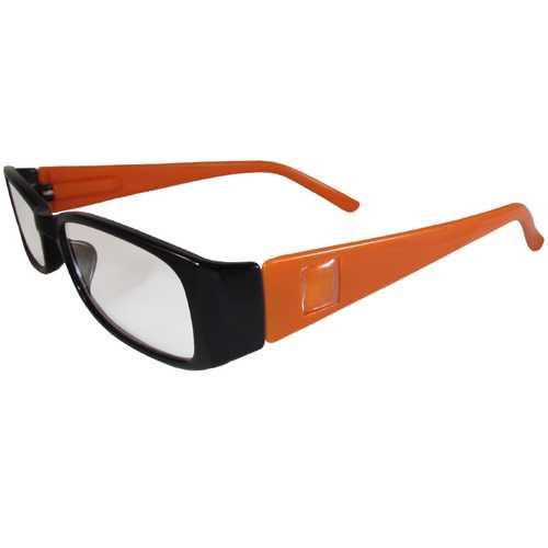 Black and Orange Reading Glasses Power +1.25, 3 pack