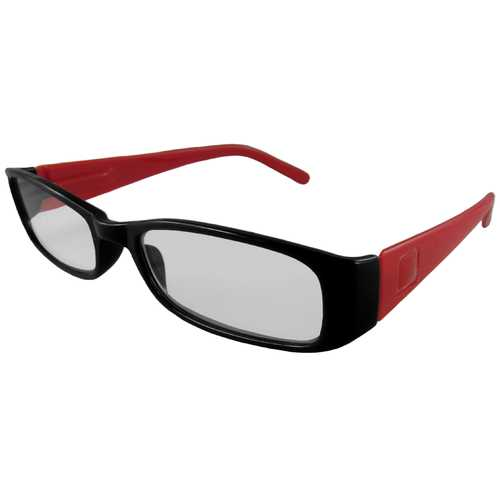 Dark Blue and Red Reading Glasses Power +2.50, 3 pack