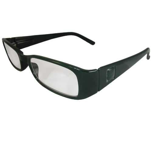 Dark Green Reading Glasses Power +1.75, 3 pack