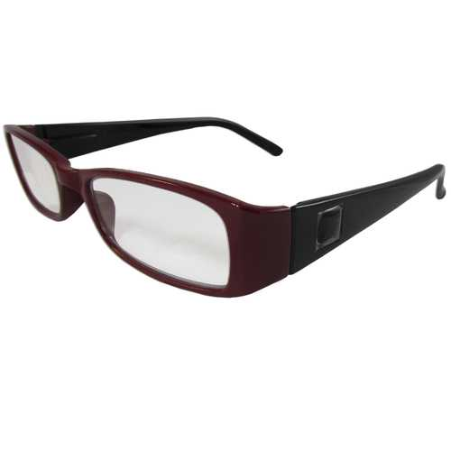 Maroon and Black Reading Glasses Power +1.75, 3 pack