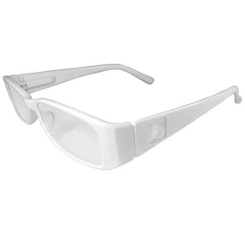White Reading Glasses Power +1.25, 3 pack